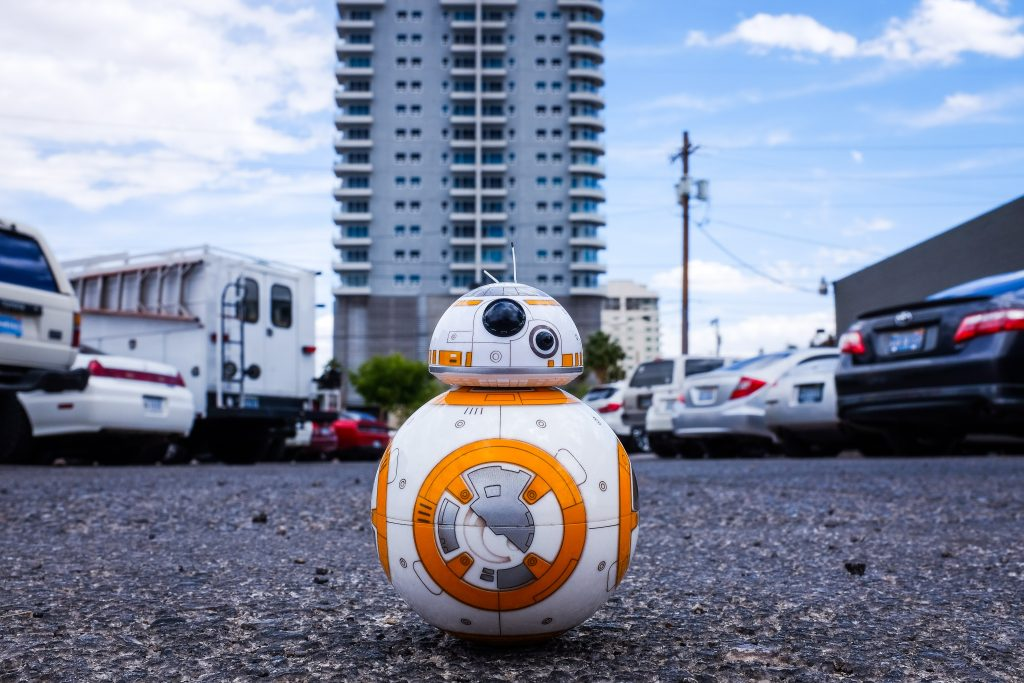 BB8 - the Robot from the Star wars films